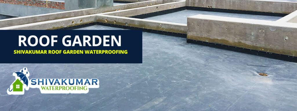 Shivakumar Roof Garden Waterproofing